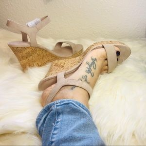 Charles By Charles David Lindy Faux Suede Sandal